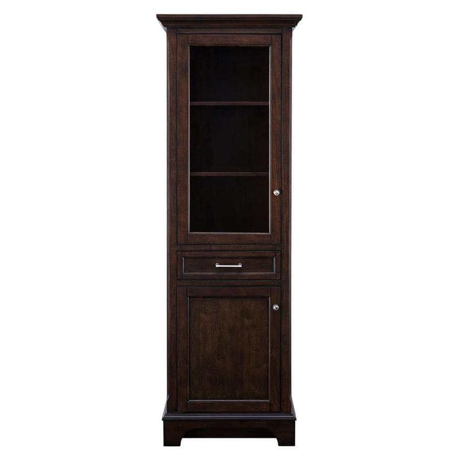 allen and roth kitchen cabinets reviews shop allen roth roveland 27 25 in w x 76 in h x 19 25 in 124