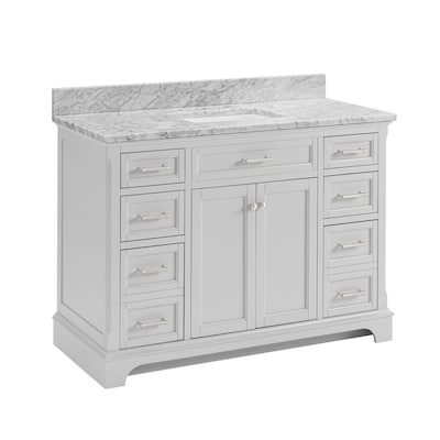 Scott Living Roveland 48 In Light Gray Single Sink Bathroom Vanity