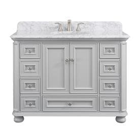 Surprising Gray Bathroom Vanities With Tops At Lowes Com Best Image Libraries Sapebelowcountryjoecom