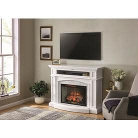 Fantastic Electric Fireplaces At Lowes Com Download Free Architecture Designs Lukepmadebymaigaardcom