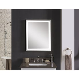 Lighted Bathroom Mirrors At Lowes Com