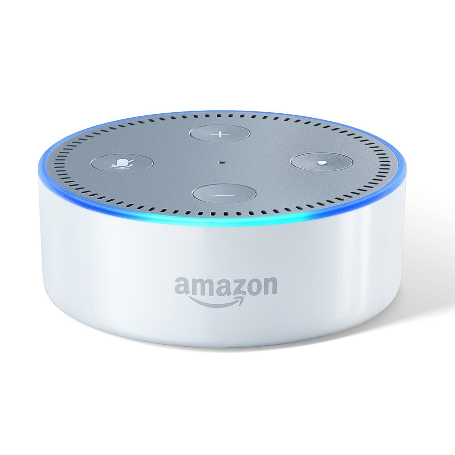 shop amazon echo dot white at. Black Bedroom Furniture Sets. Home Design Ideas