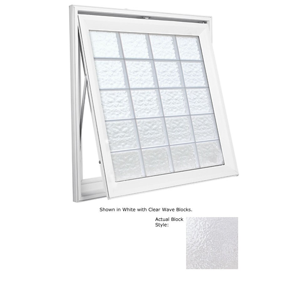 Double awning windows - Hy Lite Design Single Vinyl Double Pane Tempered New Construction Awning Window Rough Opening