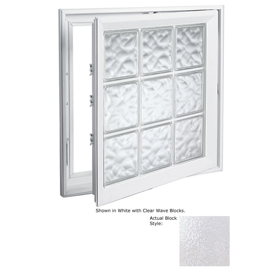 Hy-Lite Design 1-Lite Vinyl Double Pane Tempered New Construction Casement Window (Rough Opening: 21.5-in x 45.5-in Actual: 21-in x 45-in)