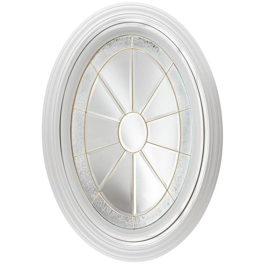 Shop Hy Lite Decorative Glass Oval New Construction Window