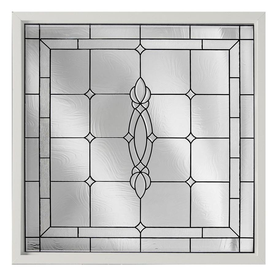 Hy Lite Decorative Gl Square New Construction Window Rough Opening 48 In