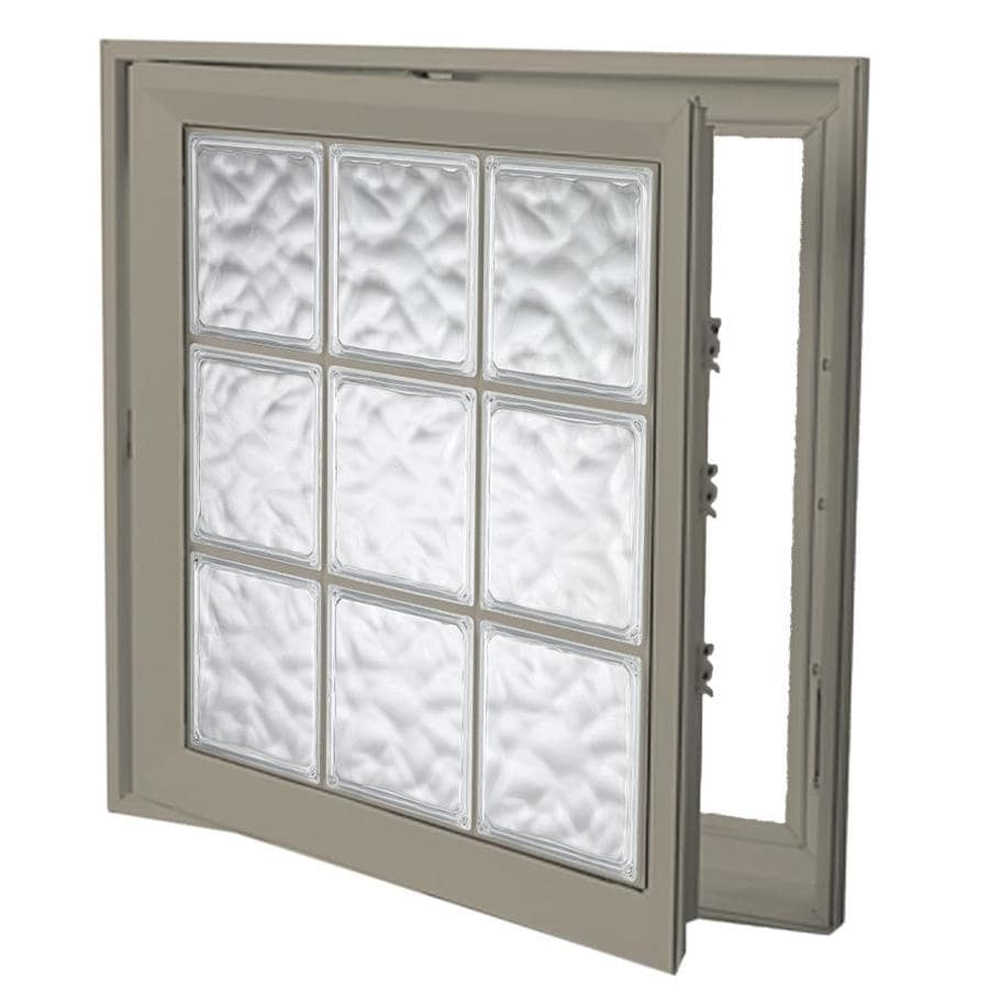 Hy-Lite Deisgn Vinyl Double Pane Tempered New Construction Casement Window (Rough Opening: 22-in x 46-in Actual: 21.5-in x 45.5-in)
