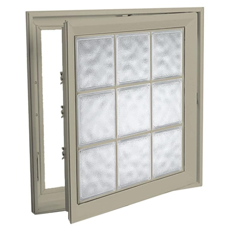 Hy-Lite Deisgn Vinyl Double Pane Tempered New Construction Casement Window (Rough Opening: 22-in x 54-in Actual: 21.5-in x 53.5-in)