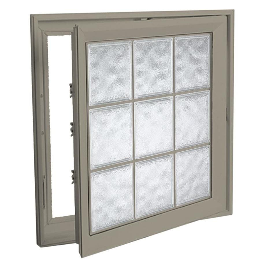 Hy-Lite Deisgn Vinyl Double Pane Tempered New Construction Casement Window (Rough Opening: 30-in x 30-in Actual: 29.5-in x 29.5-in)