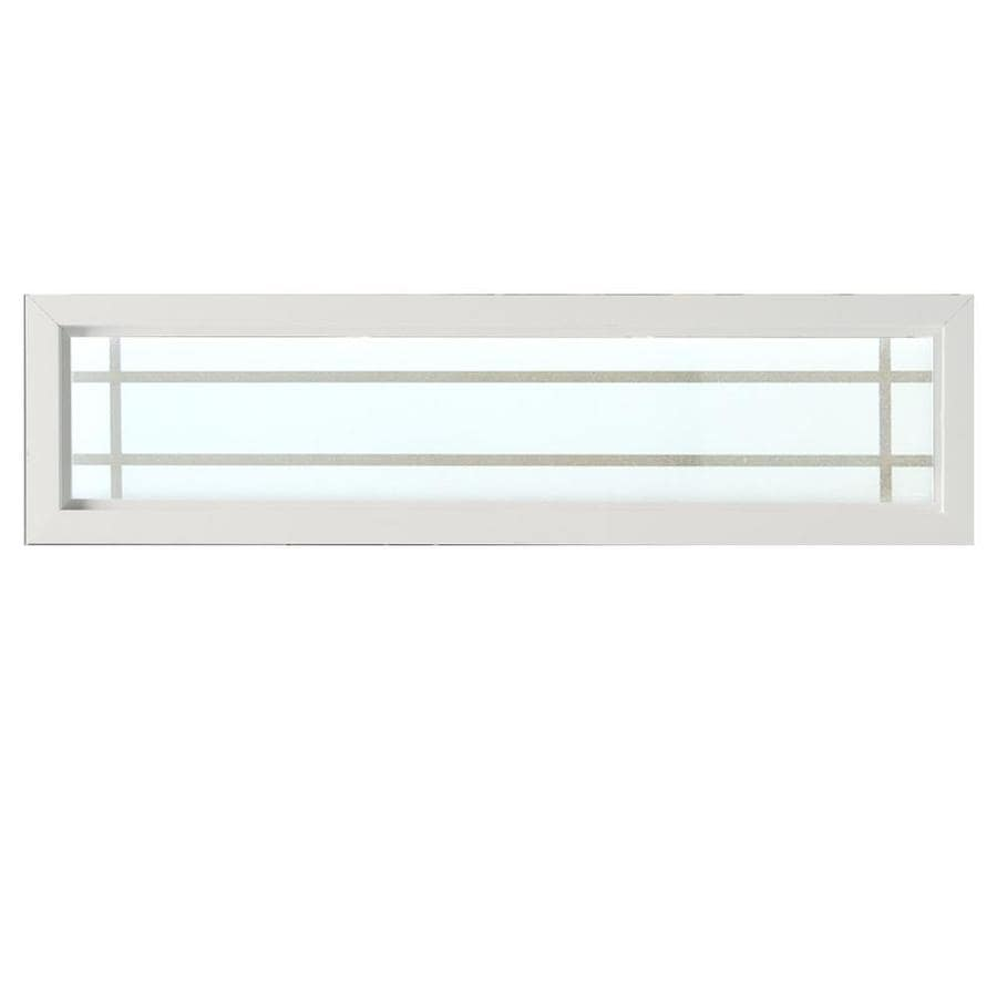 Hy Lite Rectangle New Construction White Exterior Window Rough Opening 48 In