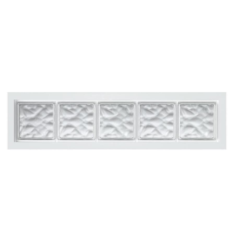 Shop hy lite design vinyl acrylic block window rough for Where to buy glass block windows