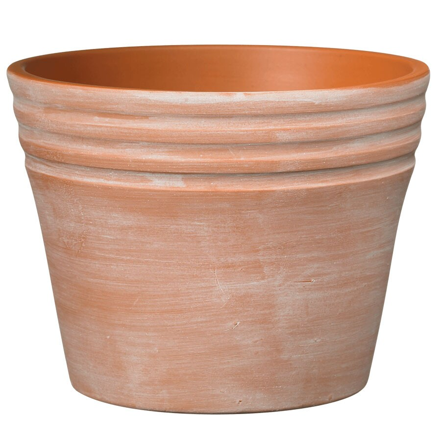 6.7-in H x 7.5-in W x 7.5-in D Terra Ceramic Indoor Pot