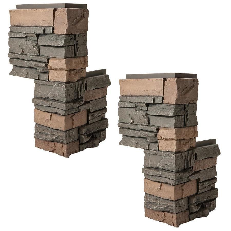 GenStone GenStoe Corner 6-sq ft Stratford Faux Stone Veneer