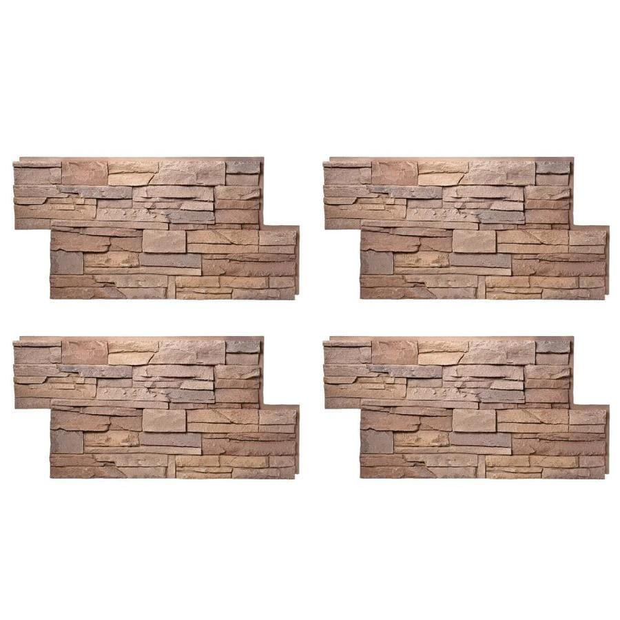 Stacked stone veneer over brick fireplace stacked stone for Brick and stone veneer
