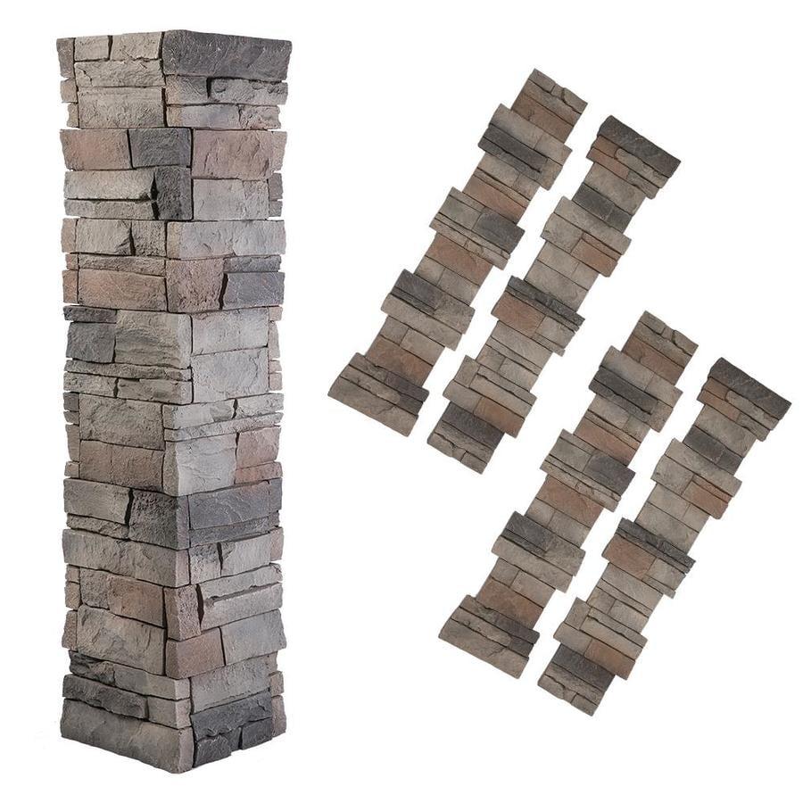 GenStone Stack Stone 16-sq ft Kenai Faux Stone Veneer