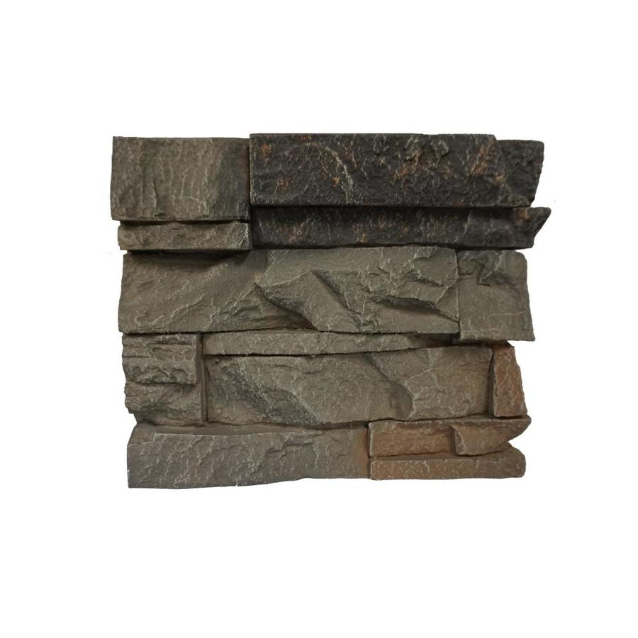 GenStone Stacked Stone Sample 1-sq ft Kenai Faux Stone Veneer