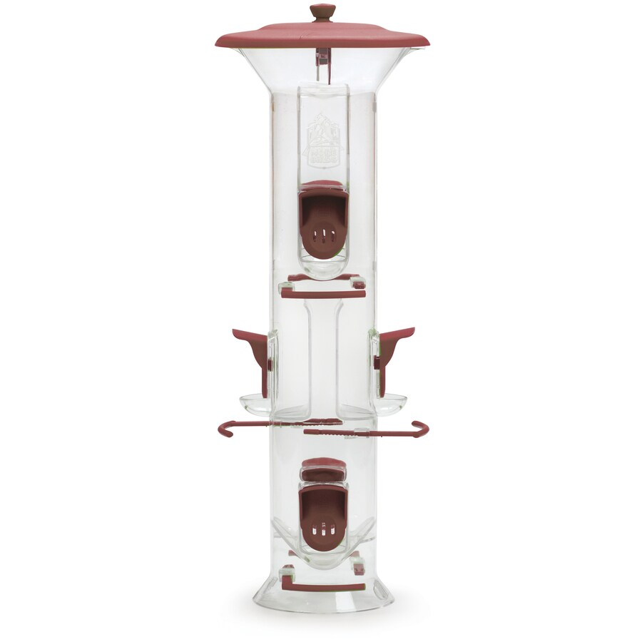 Garden Time Plastic Tube Bird Feeder