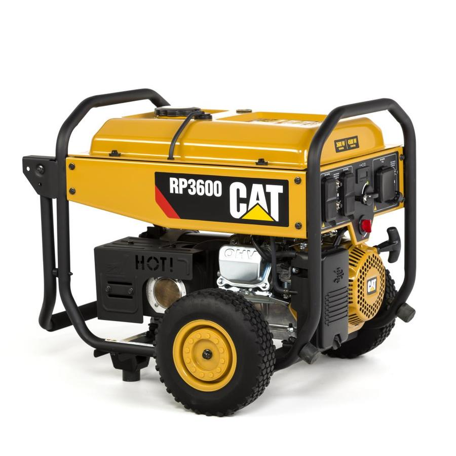 Cat RP 3600-Running-Watt Portable Generator with Caterpillar Engine