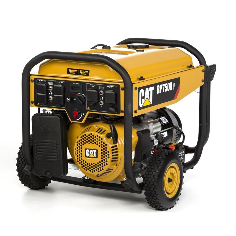 Cat RP 7500-Running-Watt Portable Generator with Caterpillar Engine