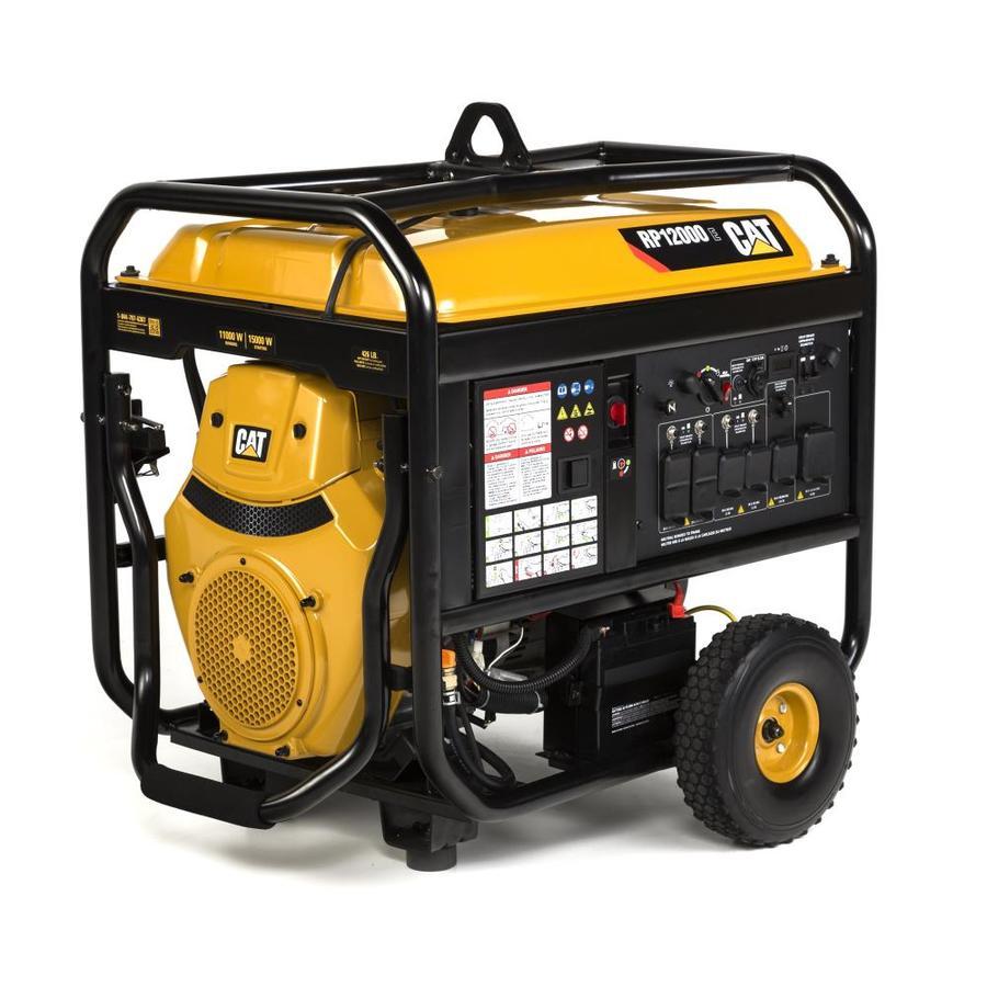 Cat RP 12000-Running-Watt Portable Generator with Caterpillar Engine