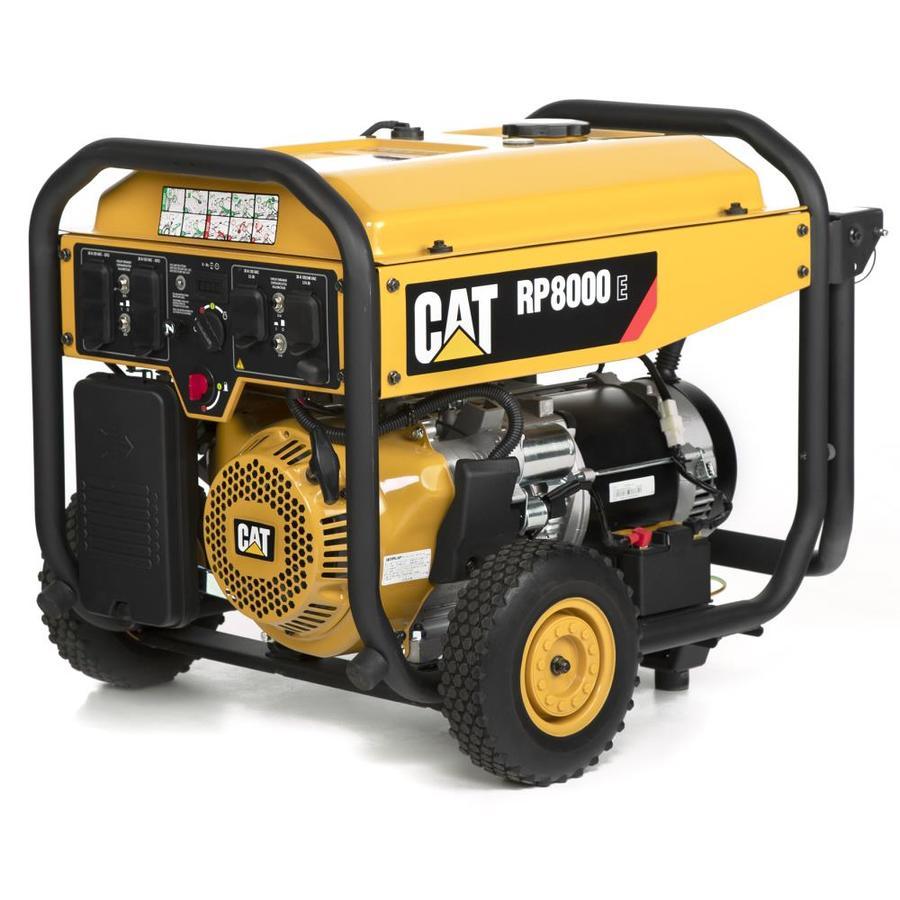 Cat RP8000 E with CO- EPA Compliant 8000-Running-Watt Gasoline
