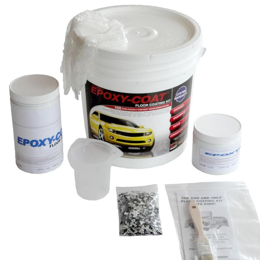 Epoxy-Coat 2-Part Green High-Gloss Garage Floor Epoxy Kit (Actual Net Contents: 48-fl oz)