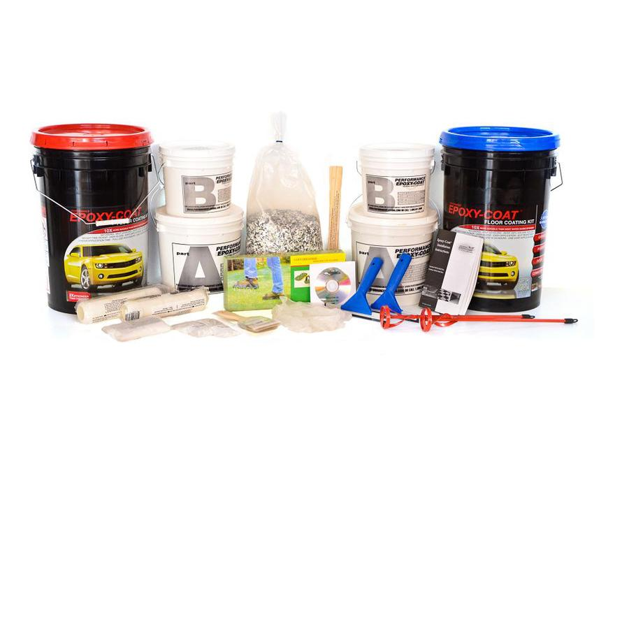 Epoxy-Coat 2-Part Green with Clear Coat High-Gloss Garage Floor Epoxy Kit (Actual Net Contents: 768-fl oz)