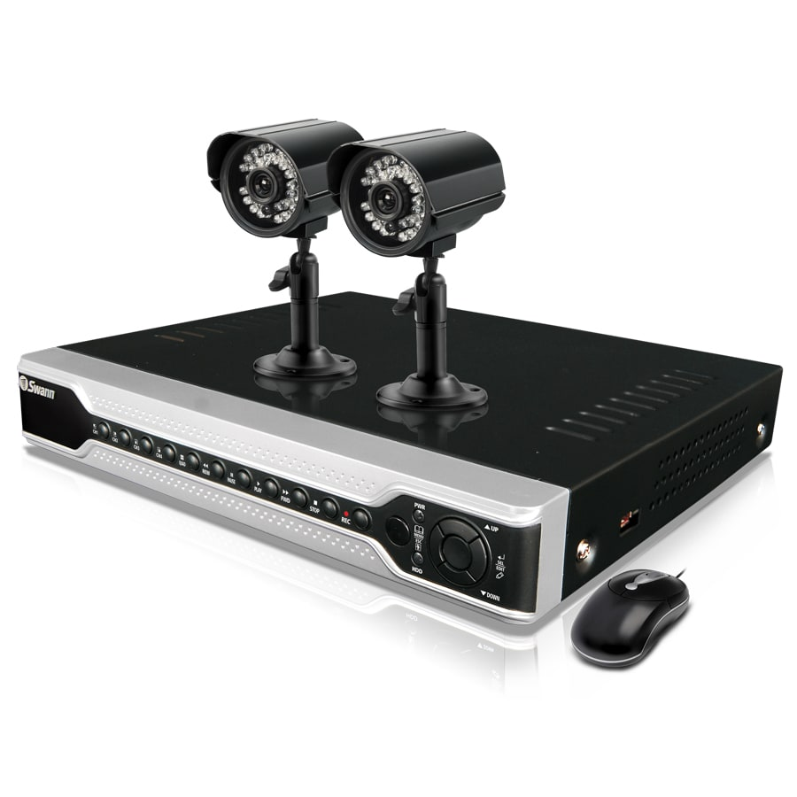 Swann DVR 4 Channel with 2 CMOS Camera