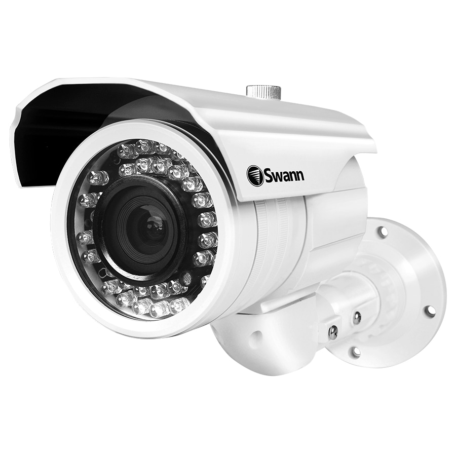Shop Swann Analog Wired Outdoor Security Camera with Night Vision ...