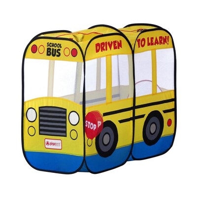 hot sale online 36859 40a82 Gigatent My First School Bus Kids Play Tent at Lowes.com