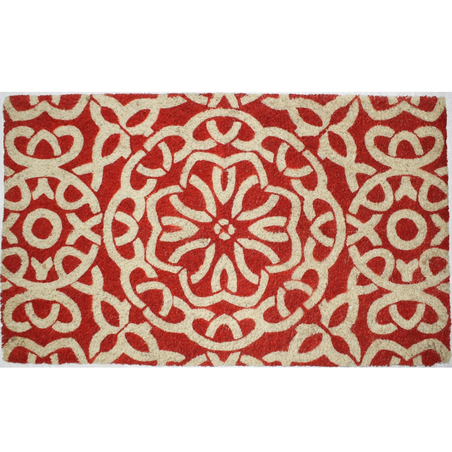 Tangerin Rectangular Door Mat (Common: 18-in x 30-in; Actual: 18-in x 30-in)