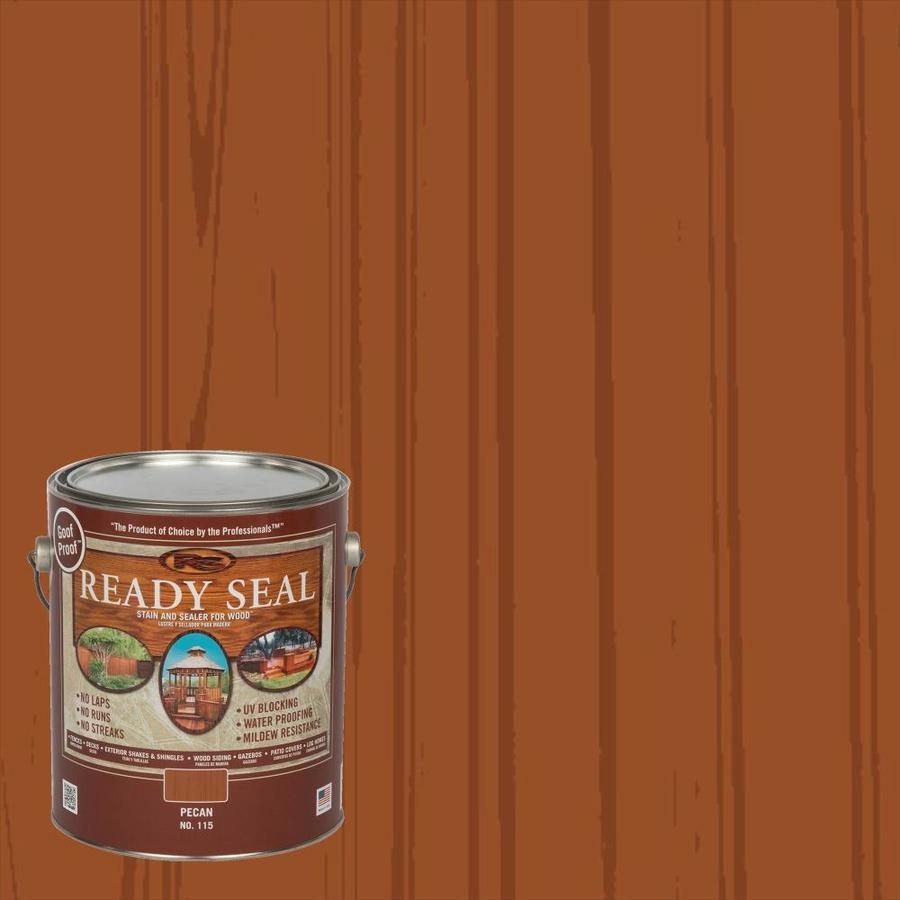 Ready Seal Pecan Semi-Transparent Exterior Stain (Actual Net Contents: 128 Fluid Oz.)