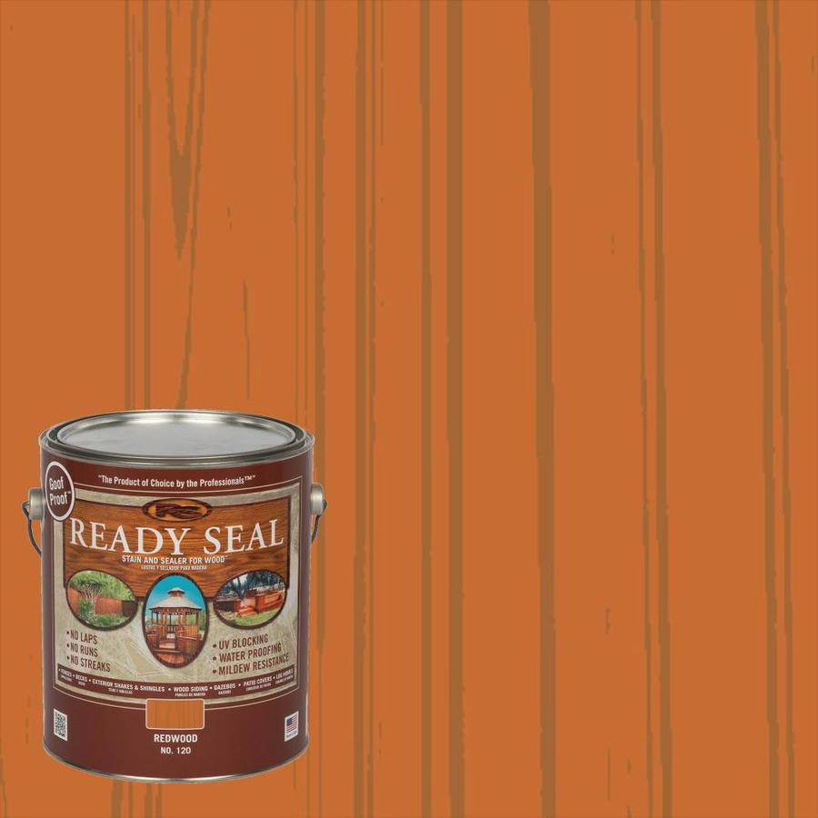 Ready Seal Redwood Semi-Transparent Exterior Stain (Actual Net Contents: 128 Fluid Oz.)