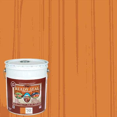 Ready Seal Pre-Tinted Natural Cedar Semi-Transparent Exterior Stain and Sealer
