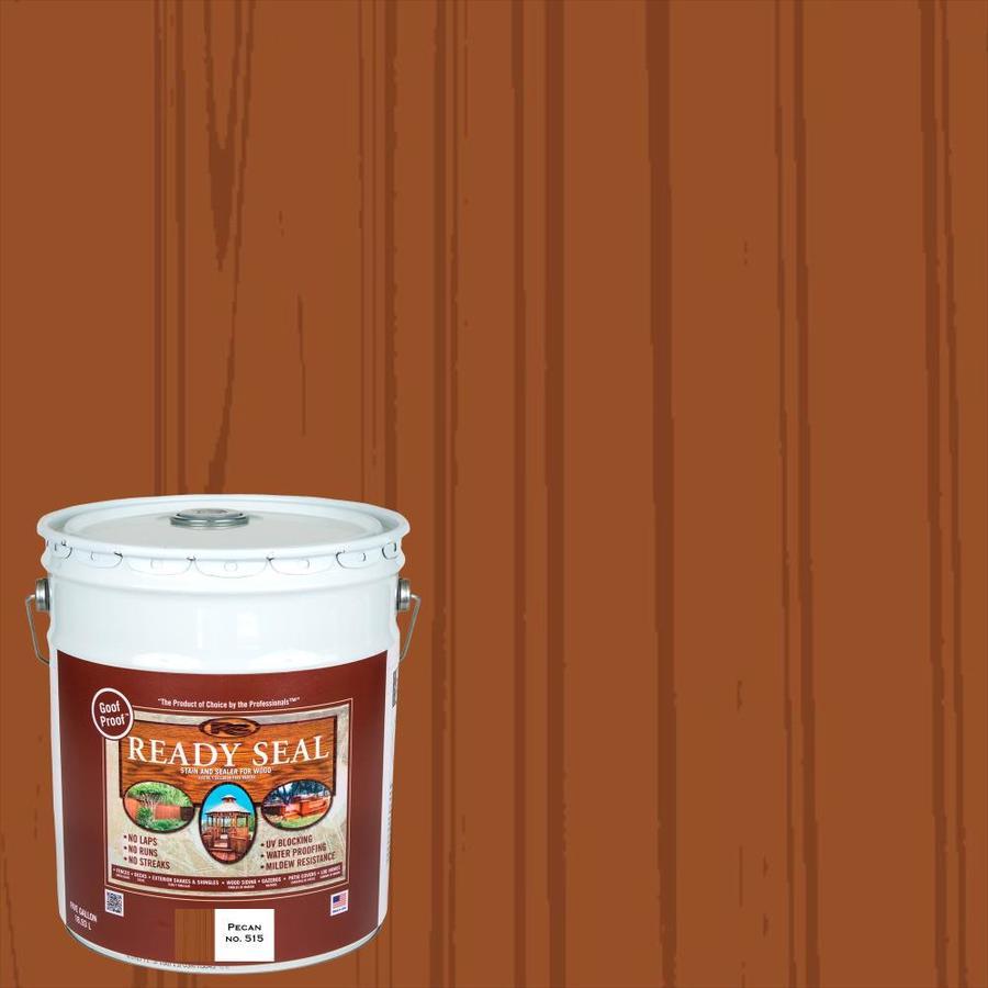 Shop Ready Seal Pre Tinted Pecan Semi Transparent Exterior