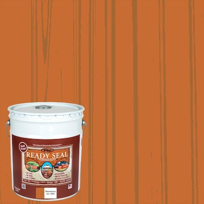 Ready Seal Pre-Tinted Redwood Semi-Transparent Exterior Stain and Sealer