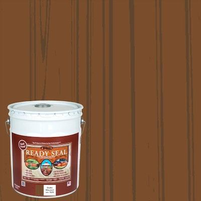 Ready Seal Pre-Tinted Dark Walnut Semi-Transparent Exterior Stain and Sealer