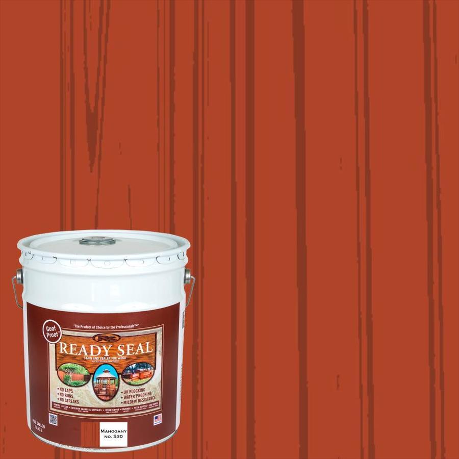 Ready Seal Mahogany Semi-Transparent Exterior Stain (Actual Net Contents: 640-fl oz)