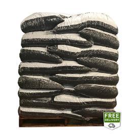 Rubberific 80 Cu Ft Green Shredded Bulk Mulch