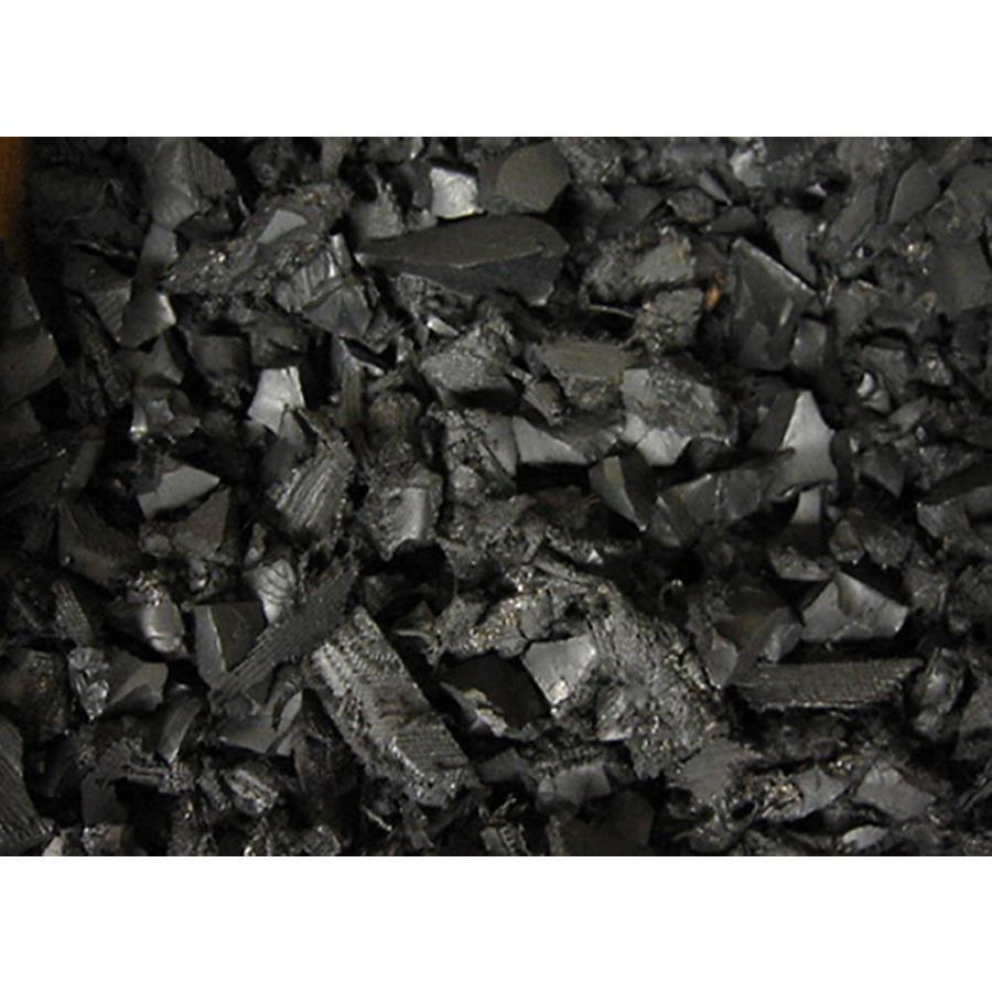RePlay 37.5-cu ft Black Nuggets Bulk Rubber Mulch