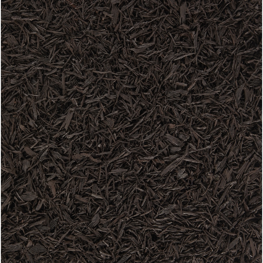 Rubberific 40-cu ft Brown Shredded Bulk Rubber Mulch