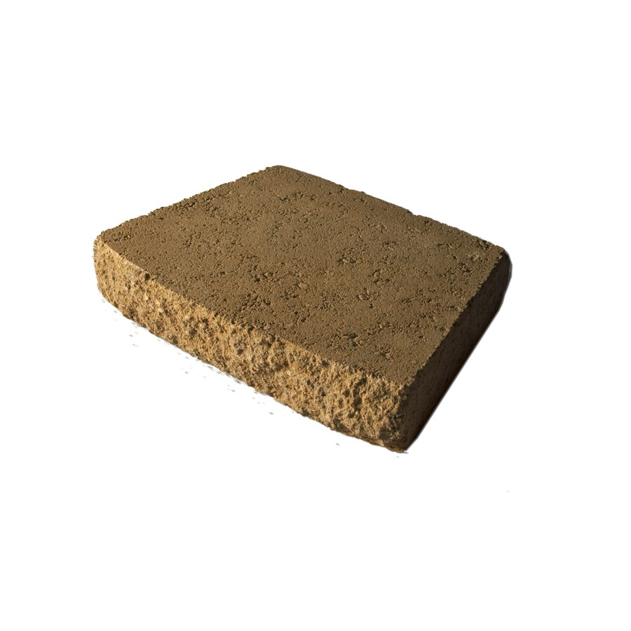 Brown/Charcoal Retaining Wall Cap (Common: 12-in x 16-in; Actual: 12-in x 16-in)