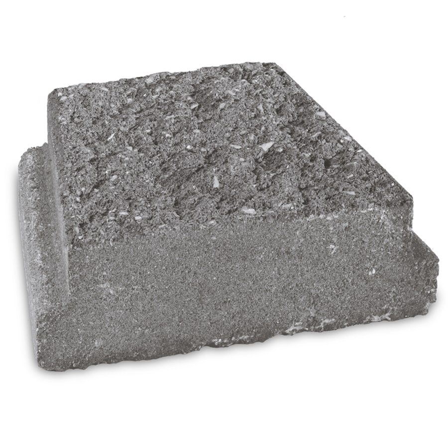 Landscaping Edging Stones Lowes : Insignia charcoal straight edging stone common in