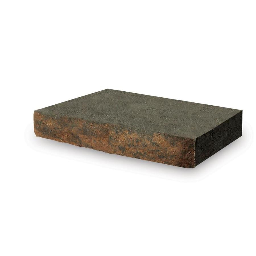 Alameda Brown and Charcoal Retaining Wall Cap (Common: 2-in x 12-in; Actual: 2-in x 12-in)