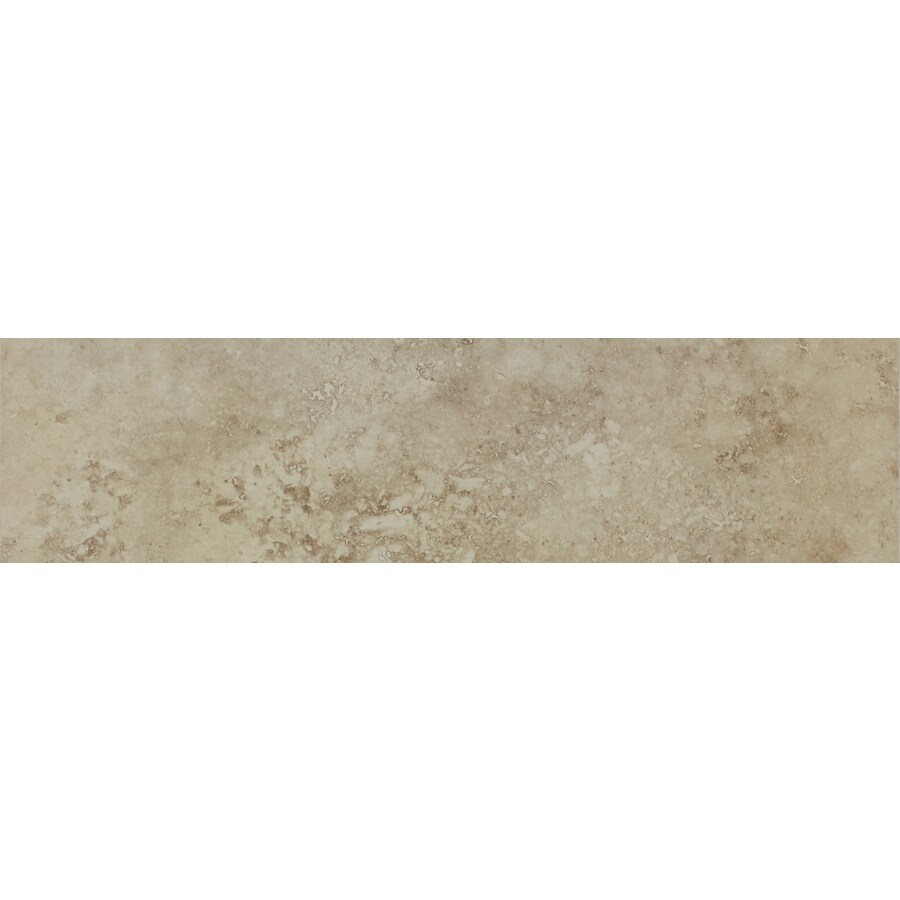 FLOORS 2000 Istanbul Sand Porcelain Bullnose Tile (Common: 3-in x 20-in; Actual: 3-in x 19.75-in)