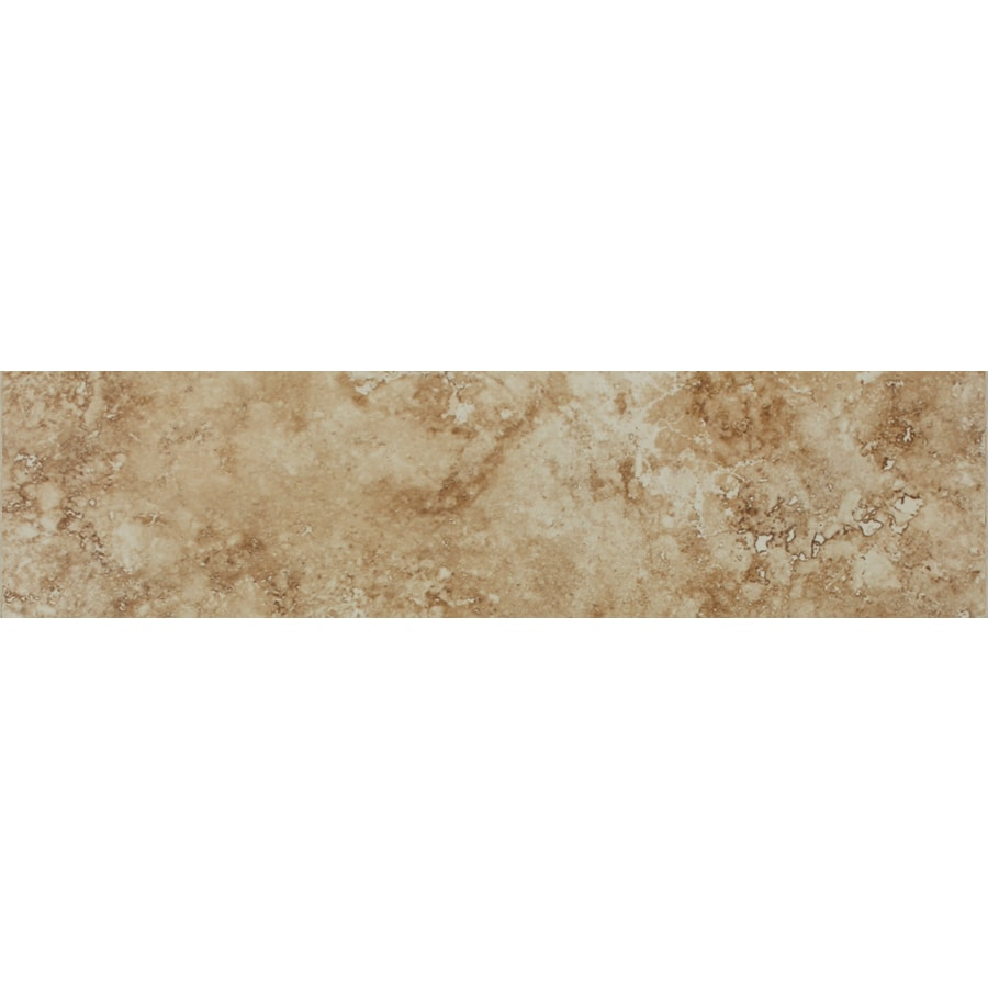FLOORS 2000 Istanbul Dune Porcelain Chair Rail Tile (Common: 3-in x 20-in; Actual: 3-in x 19.75-in)