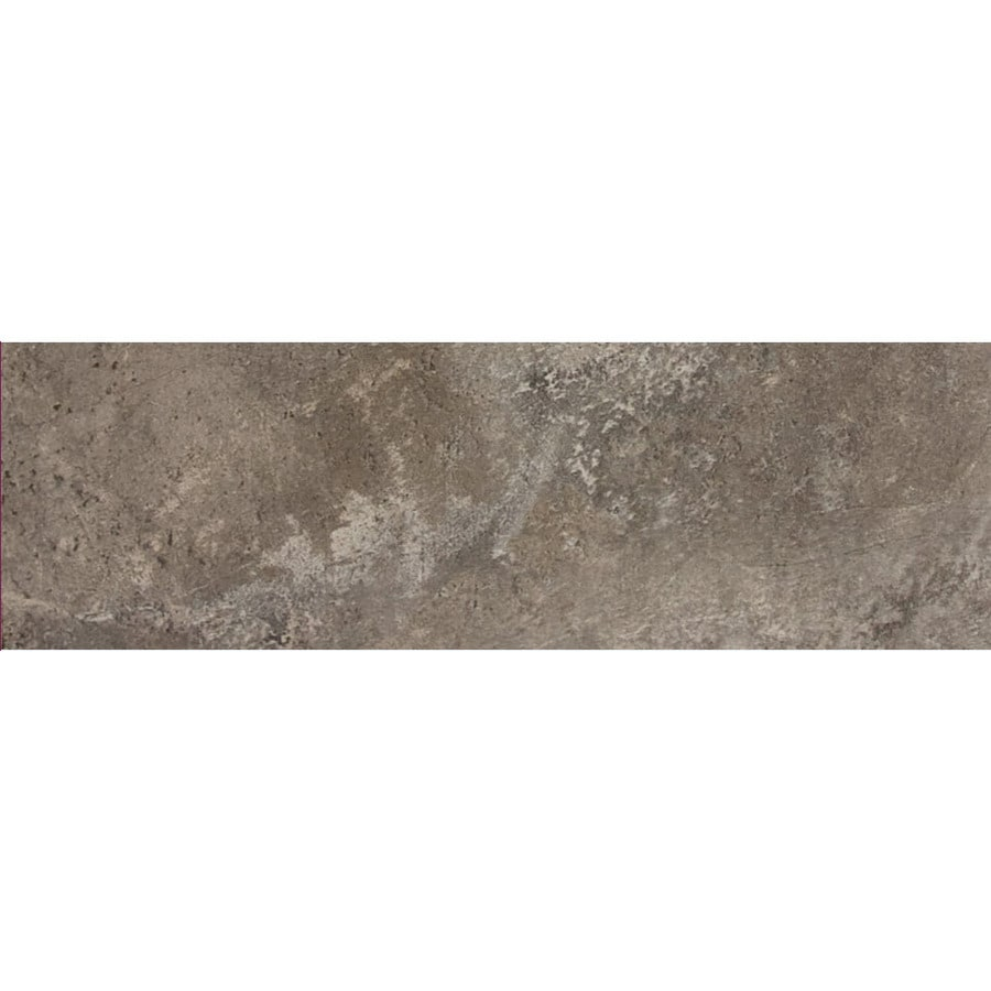 FLOORS 2000 Altamira Fume Porcelain Chair Rail Tile (Common: 3-in x 18-in; Actual: 3-in x 17.72-in)