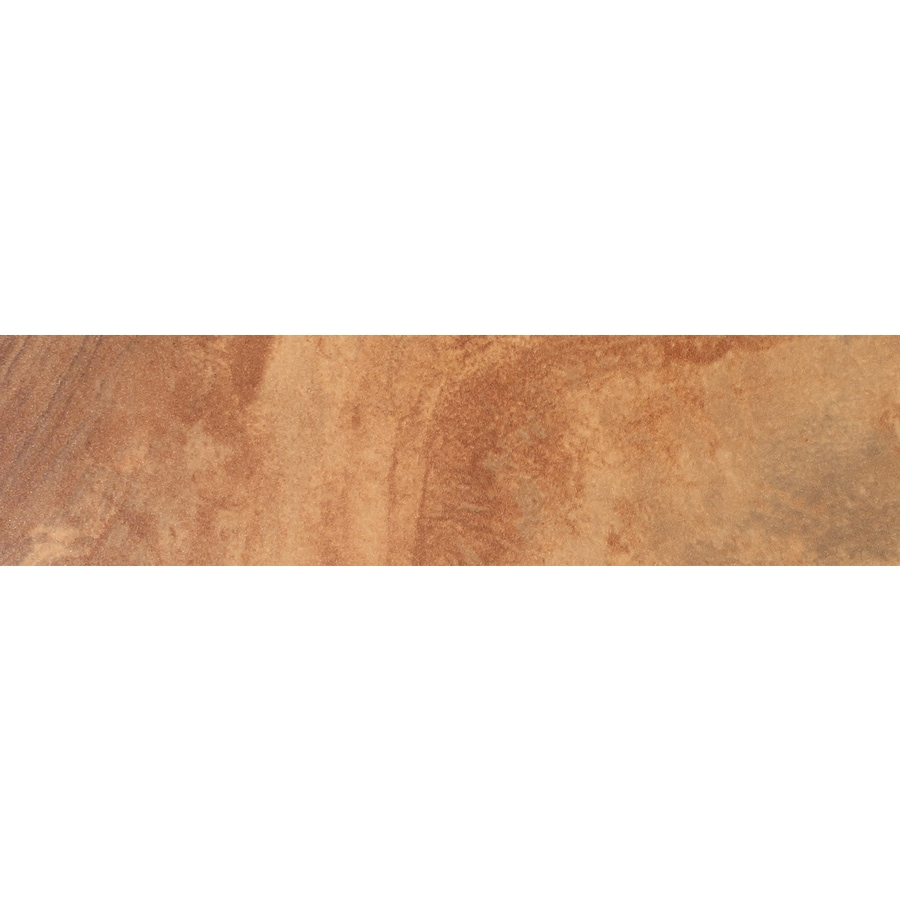 FLOORS 2000 Jungle Sunset Porcelain Bullnose Tile (Common: 3-in x 18-in; Actual: 3-in x 17.72-in)