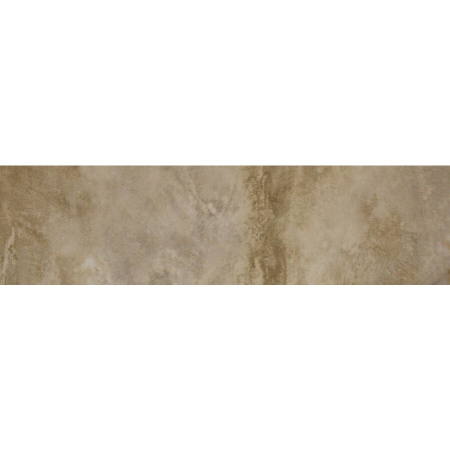 FLOORS 2000 Jungle Glacier Porcelain Bullnose Tile (Common: 3-in x 18-in; Actual: 3-in x 17.72-in)