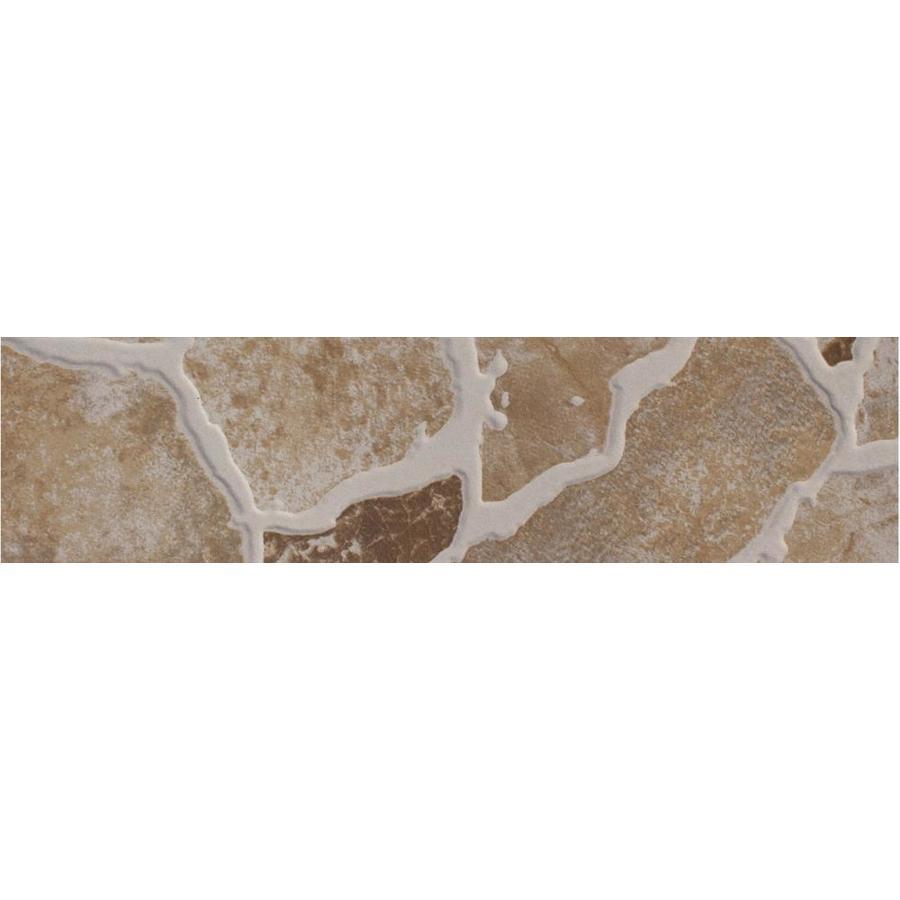 FLOORS 2000 Stonehenge Beige Porcelain Bullnose Tile (Common: 3-in x 18-in; Actual: 3-in x 17.72-in)